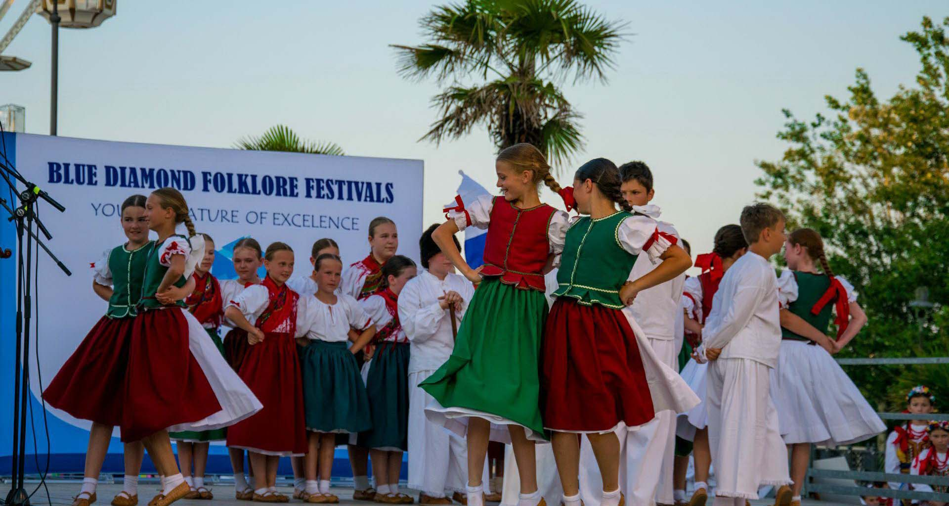 Folkore festival in Sorrento, Italy - Folklore festivals Blue Diamond