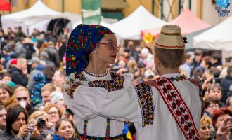 EASTER FOLKLORE FESTIVAL PRAGUE 2018, ROMANIA