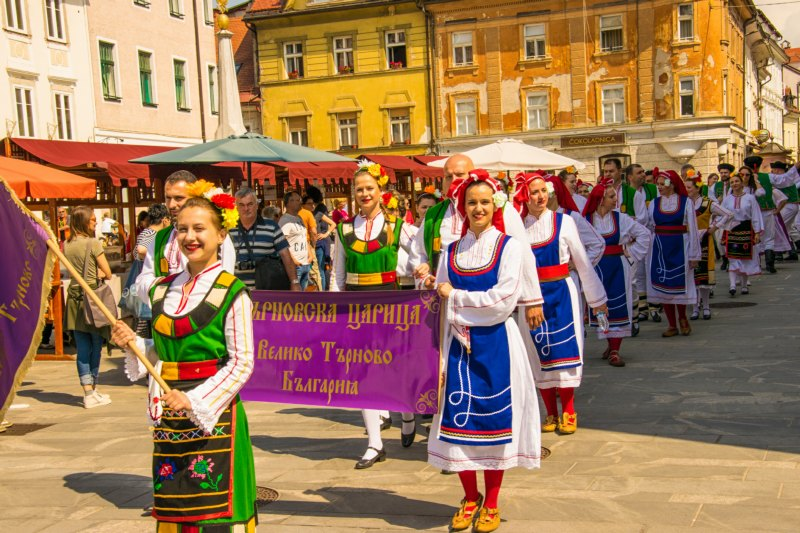 Kranj Slovenia International Folklore Festival May 2019