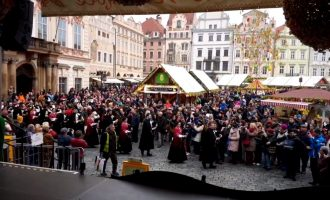 Easter folklore festival in Prague 2019