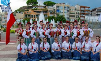 Folklore festival Costa Brava, Spain