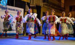 Folklore festival Costa Brava, Spain
