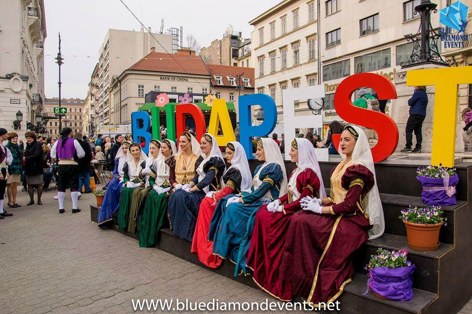 Folklore festival Pearl of Danube Budapest