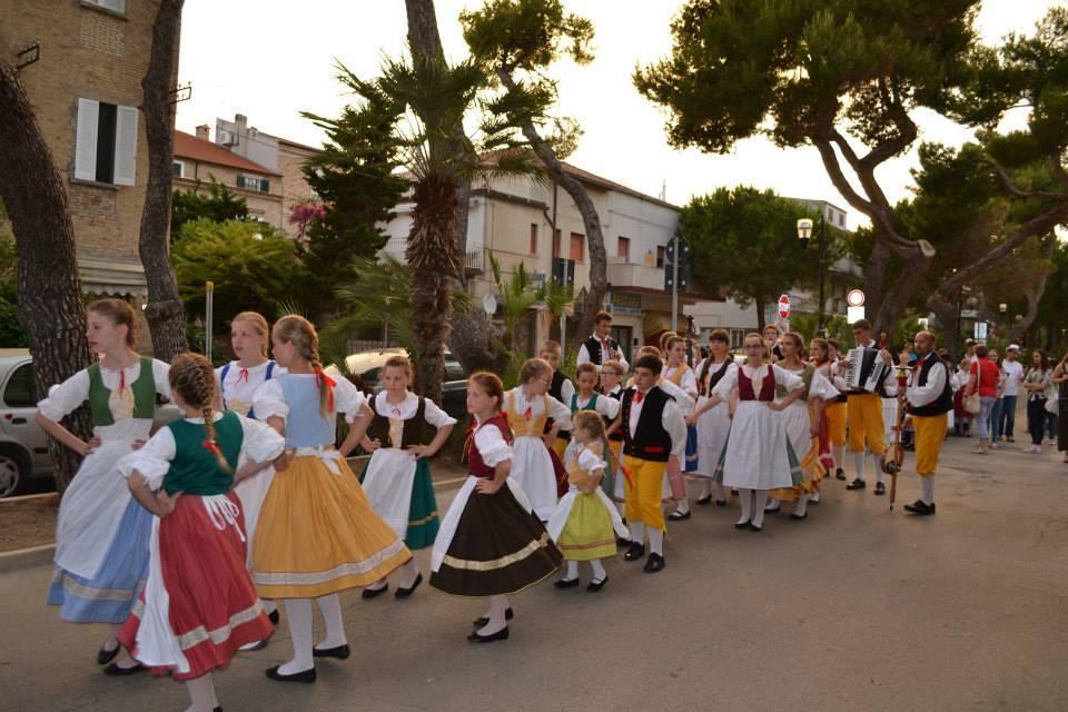 Folklore festival in Siilvi Marina, Pescara
