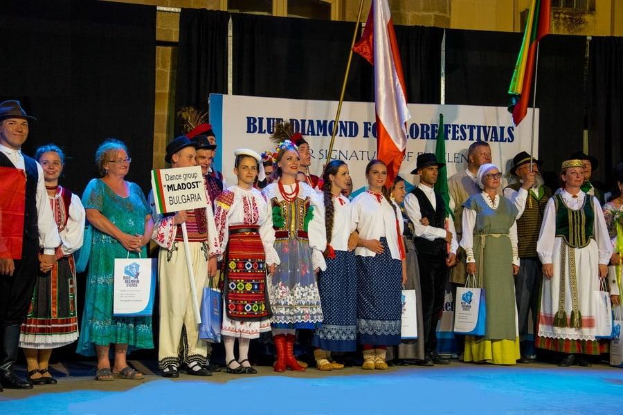 Международен фолклорен фестивал в Коста Брава Барселона