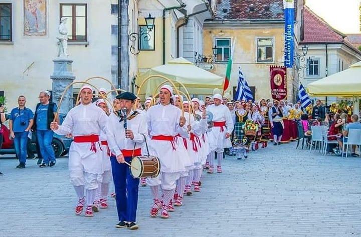 diethnes festival paradosiakon choron mplent slovenia