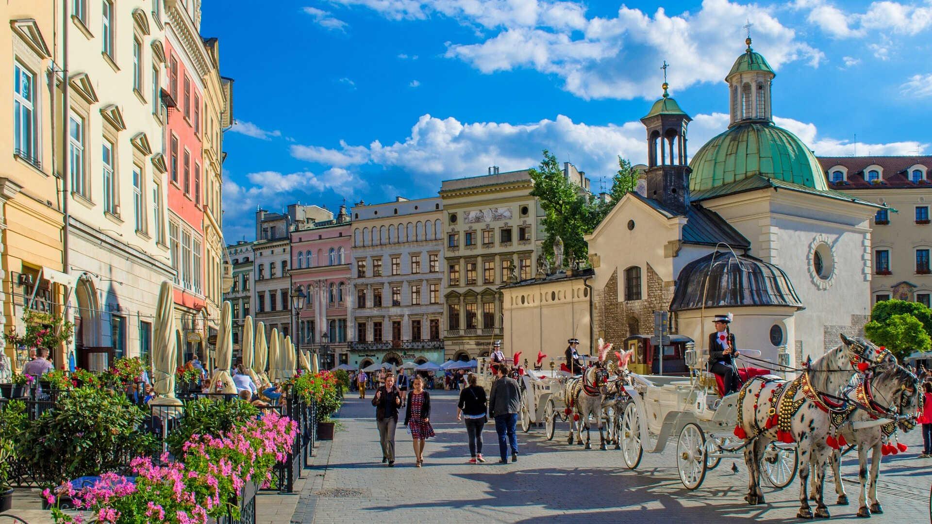 festival folklora u krakovu poljska