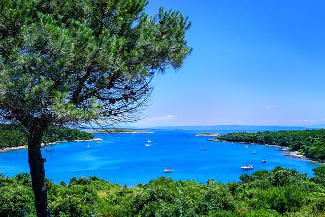 Croazia,il mare cristallino