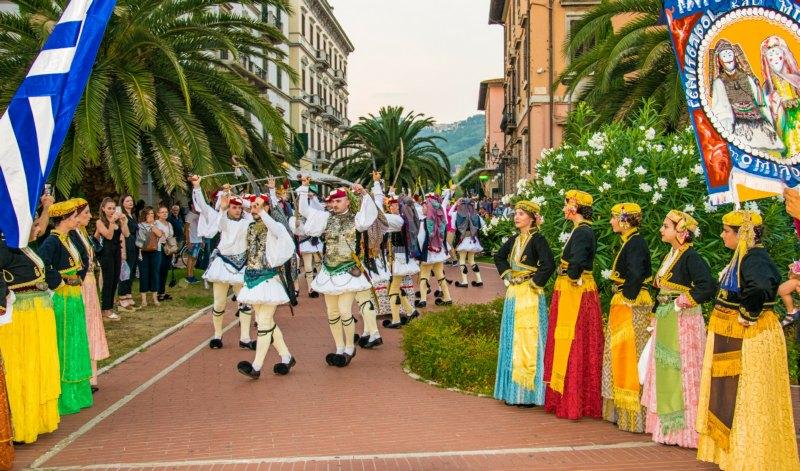 FESTIVAL DE FOLKLORE MONTECATINI TERME, ITALIA