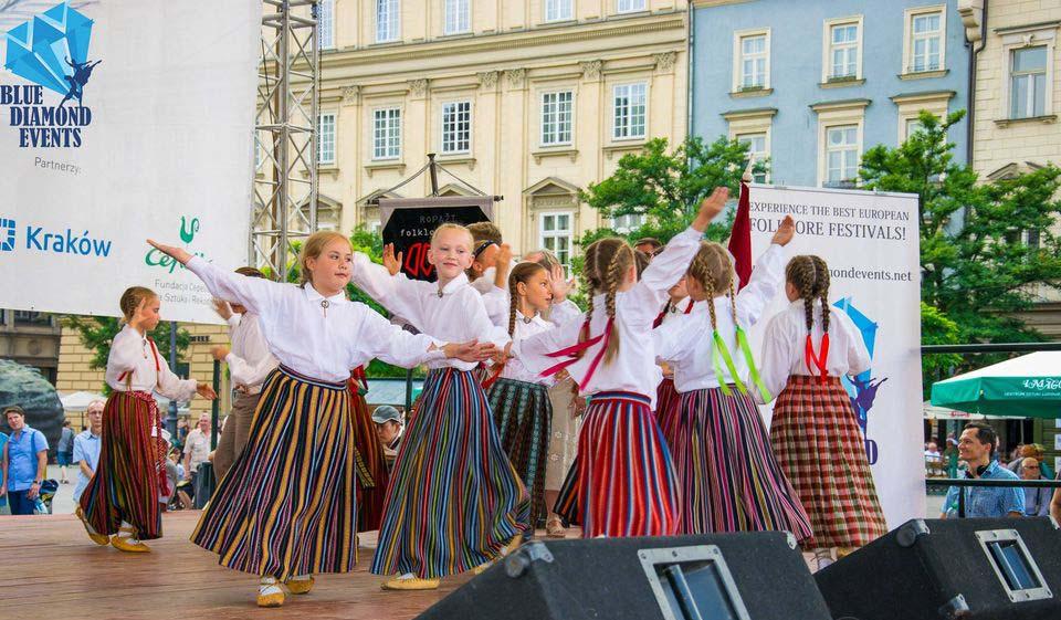 Festival de folklore Cracovia, Polonia