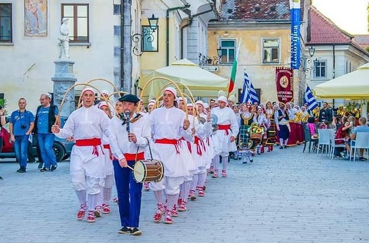Festival de folklore lago Bled, Eslovenia