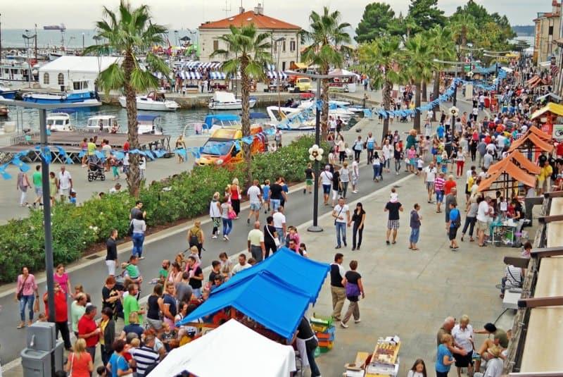 Международен фолклорен фестивал в Копер Словения