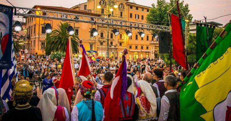 festival de folklore en Toscana